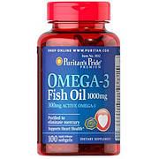 Puritan`s Pride Omega 3 Fish Oil (100 капс.)