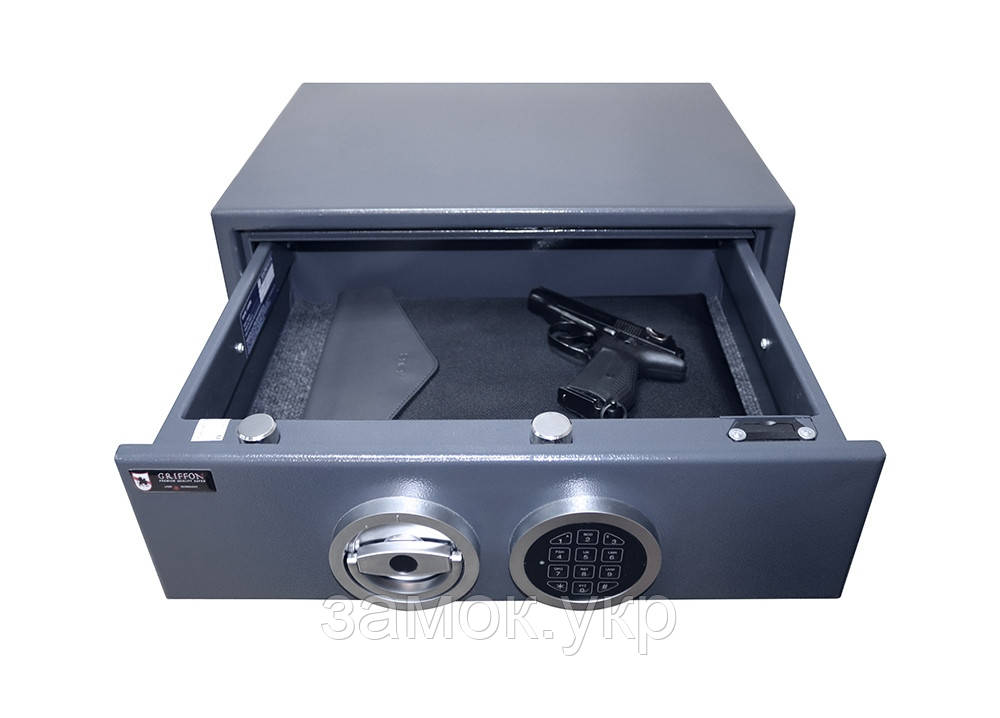 Сейф пистолетный GRIFFON GU.50.E (Украина)