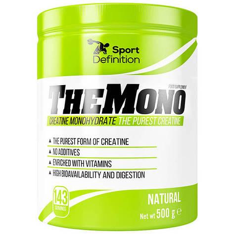 TheMono Creatine Monohydrate Sport Definition (500 гр.), фото 2