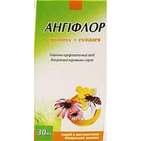 Спрей для порожнини рота Ангіфлор прополіс+ехінацея 30 мл