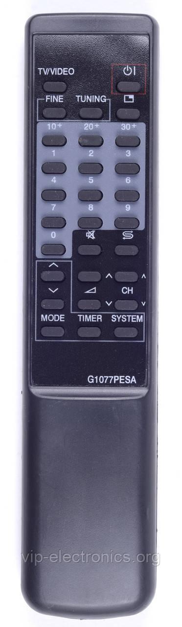 Пульт Sharp  G1077PESA (TV) як оригінал