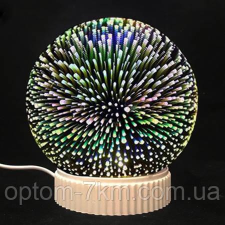 3D магічний Світильник конус, куля нескінченності P