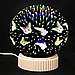 3D магічний Світильник конус, куля нескінченності P, фото 3