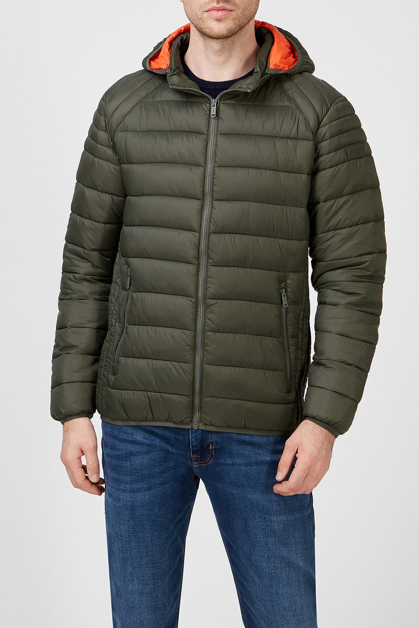 Мужская куртка пуховик CMP Zip Hood 30K2757-F977
