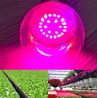 Светодиодная фитолампа 12Вт Е27 для растений, полный спектр