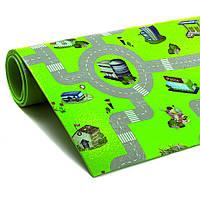 Детский коврик для игр ГОРОД 8мм/110х200см