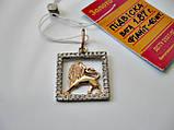 Золотой Кулон знак зодиака ЛЕВ - 1.87 грамма из ЗОЛОТА 585 пробы, фото 3
