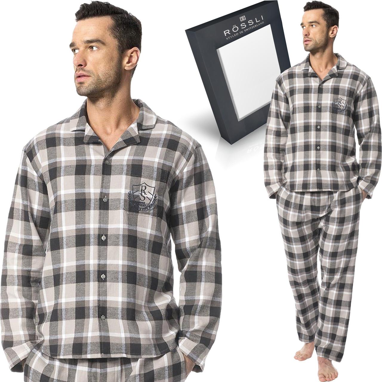 Фланелевая пижама в подарочной упаковке.ROSSLI