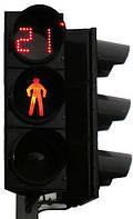 Светофор пешеходный светодиодный РЕ2020, с устройством отсчета времени PE2318