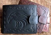 Стильное мужское портмоне №15 Орёл, фото 1