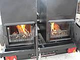 Двойной смокер-гриль на 2-х осном шасси, фото 4