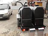 Двойной смокер-гриль на 2-х осном шасси, фото 3
