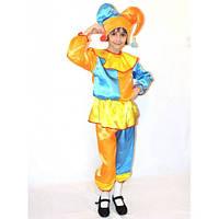 Детский маскарадный костюм Скомороха, р.122