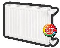 Стальной радиатор 300х2000, 22 тип, бок. Вогель нот (Vogel & Noot). Стальные радиаторы отопления (батареи).