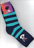 Носки детские - подростковые с махрой ,,Стиль Люкс  размер 16-18, фото 3