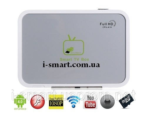 Android4.0 1.2GHz 4GB TV Box Wifi + Front Camera +5.1-Channel звук
