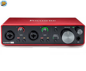 Аудиоинтерфейс Focusrite Scarlett 2i2 2nd Gen USB 2х2