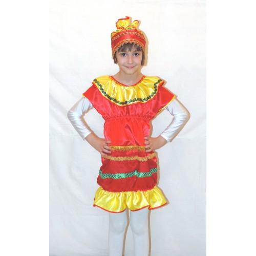Детский маскарадный костюм для девочки Хлопушки (Конветки), р.116