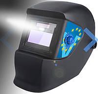 Сварочная маска Хамелеон Evolution Gibrid  с LED подсветкой+комплект стёкол 2 наружных и 1 внутреннее