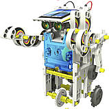 Робот конструктор Solar Robot 14 в 1 на солнечной батарее, интерактивный набор для детей, фото 5