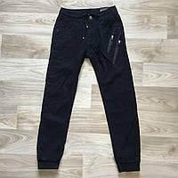 Утеплённые,синие,Котоновые брюки ДЖОГГЕРЫ для мальчиков ,.Размеры 134-164 см.Фирма GRACE.Венгрия