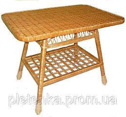 Стол обеденный из лозы