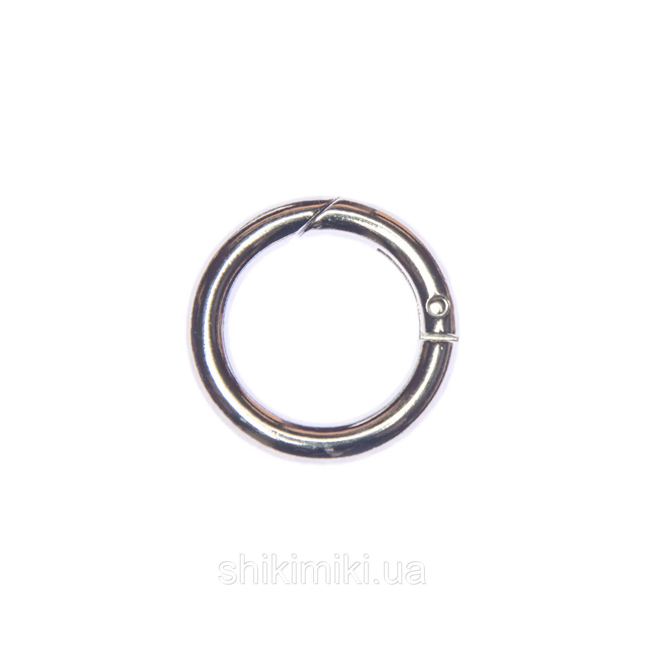 Кольцо-карабин KK01-1 (25 мм), цвет никель