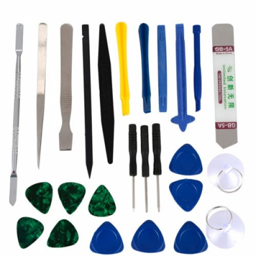 Набор инструментов для вскрытия корпусов разборки ремонта телефонов 21в1, 102799