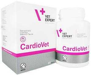 КАРДИОВЕТ CARDIOVET VETEXPERT витамины для сердечно-сосудистой системы собак, 90 таблеток