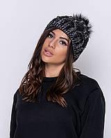 Шапка женская зимняя теплая, фото 1