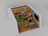 Детский игровой лабиринт 3,5х3,5х3
