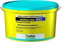 Weber.tec 822 light grey (Superflex 1), 24кг - высокоэластичный гидроизоляционный раствор