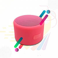 Портативная Bluetooth колонка Bluetooth JEDEL Wave-119 Розовая