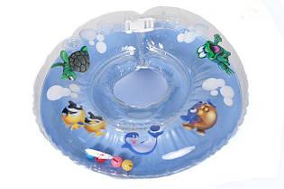 """Двухсторонний круг на шею """"Дельфин"""" для деток"""
