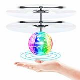 Летающий светящийся шар Induction Crystal Ball, фото 3