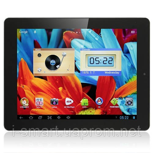 Планшет ONDA V972 Quad Core 32GB Tablet PC 9.7 Inch Android 4.1 Retina IPS Screen 2G Ram 4K Video черный