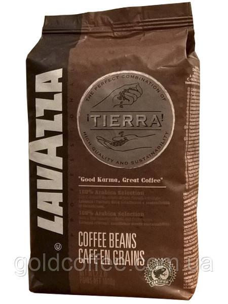 Кава в зернах Lavazza Tierra