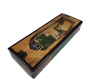 Брелок Tony Perotti кожаный Happy key QUADRIFOGLIO 151, фото 2