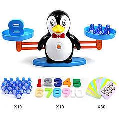 Обучающая счету настольная игра для детей Сохрани баланс DD1808-8 пингвины