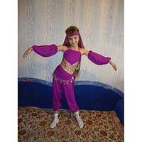 НА ПРОКАТ  Детский костюм Восточной красавицы для девочки, р.104-116