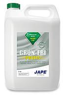 Средство для удаления мха, лишайника, водорослей Grön-Fri Proffs (Швеция) 5 л на 375 кв.м. КОНЦЕНТРАТ! 1:14