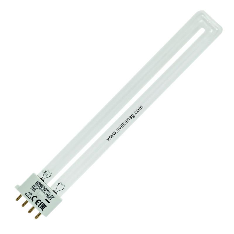 Лампа бактерицидна ультрафіолетова HNS S/E 11w OSRAM 2G7 PURITEC UV-C