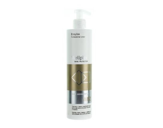 Средство для лечения и восстановления волос после окрашивания и осветления Erayba Wellplex W02 Bond Connector