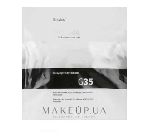 Осветляющая глина для волос Erayba Gamma Bleaching System G35 500г