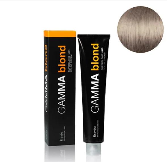 Стойкая крем-краска для волос Erayba Gamma Blond 12/60 Супер экстра-блонд коричневый 100 мл