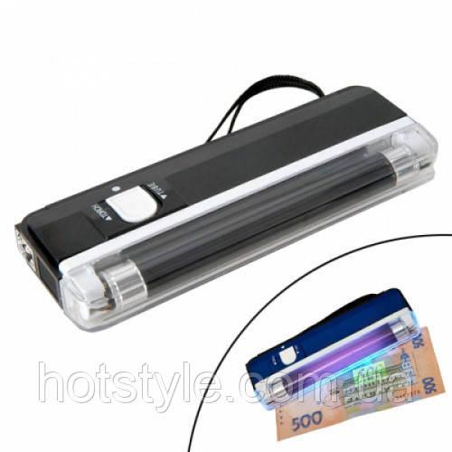 Детектор валют купюр ультрафиолетовый портативный DL01, 104851
