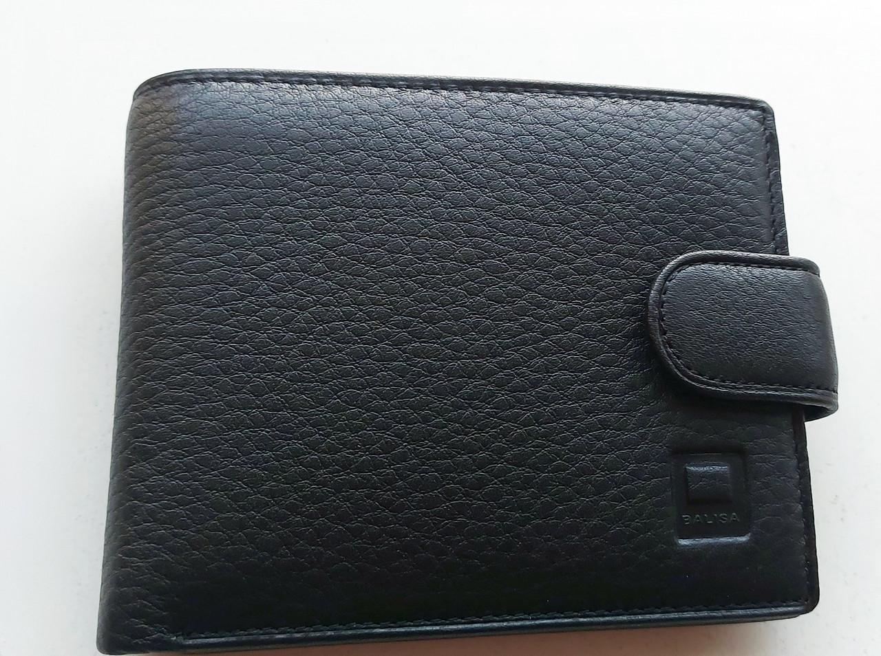 Чоловіче шкіряне портмоне BA 6-24 black, купити чоловіче портмоне Balisa недорого в Україні