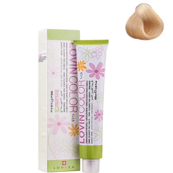 Стойкая крем-краска для волос Lovien Essential Lovin Color  №12.3 Блонд с золотистым оттенком 100 мл