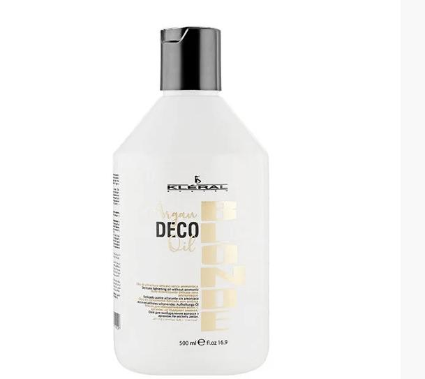 Обесцвечивающее масло для волос Kleral System Blonde Argan Deco Oil 500 мл