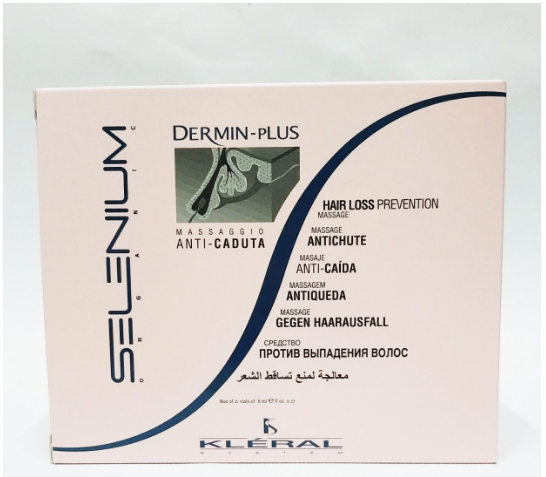 Ампулы  Kleral System Selenium Dermin Plus против выпадения волос 21 шт*8 мл